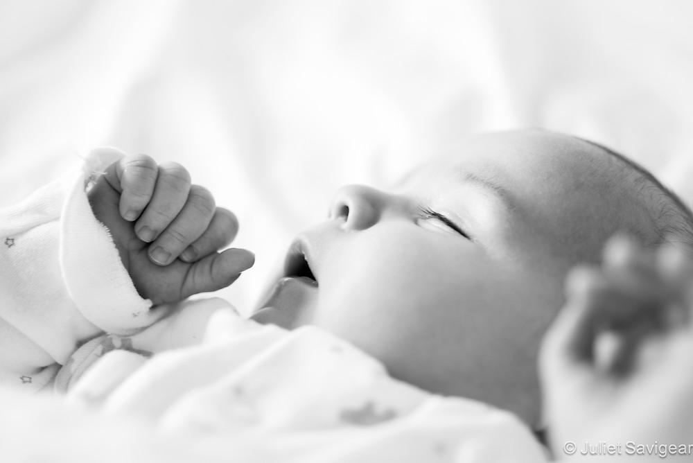 Sleepy Head- Baby Photography, East Dulwich