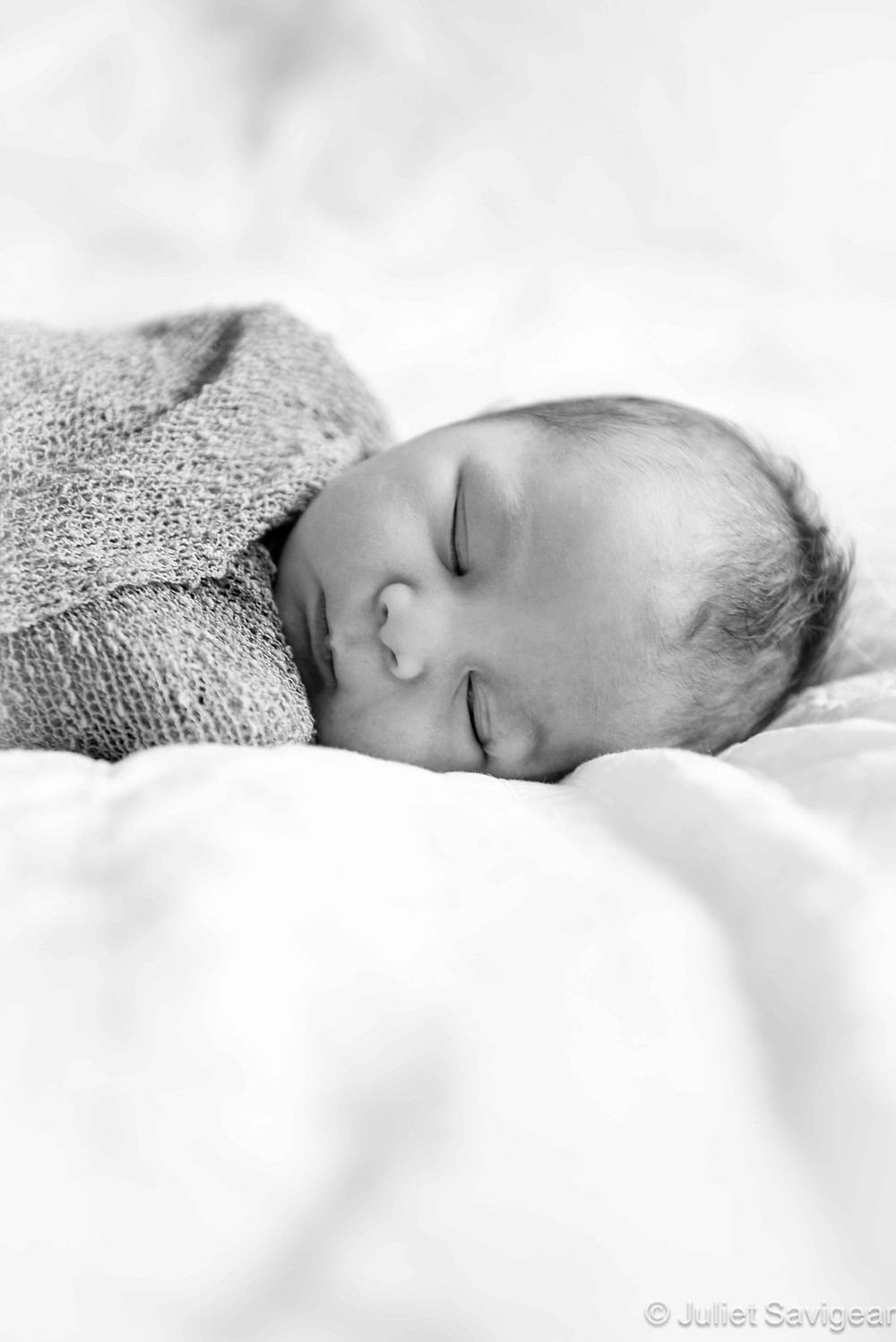 Sleeping Baby - Newborn Baby Photography, Vauxhall