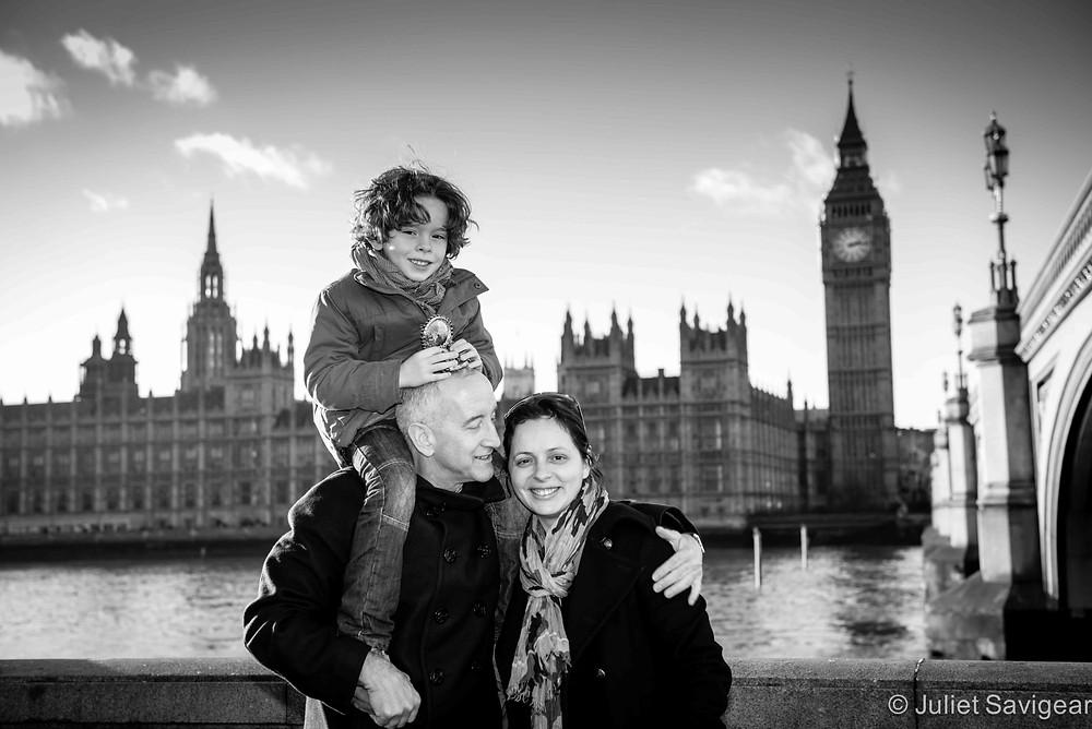 Big Ben & Houses of Parliament - Family Photographer, London