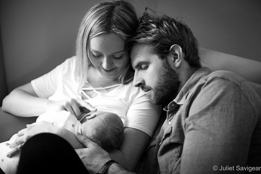 Family Portrait - Newborn Baby Photographer, Clapham South