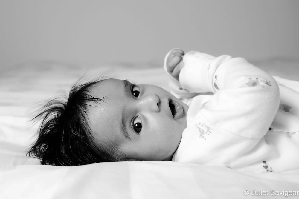Big-eyed baby