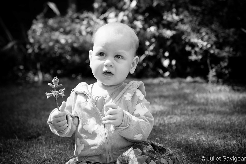 Flower Girl - Baby Photography - Orpington, Bromley