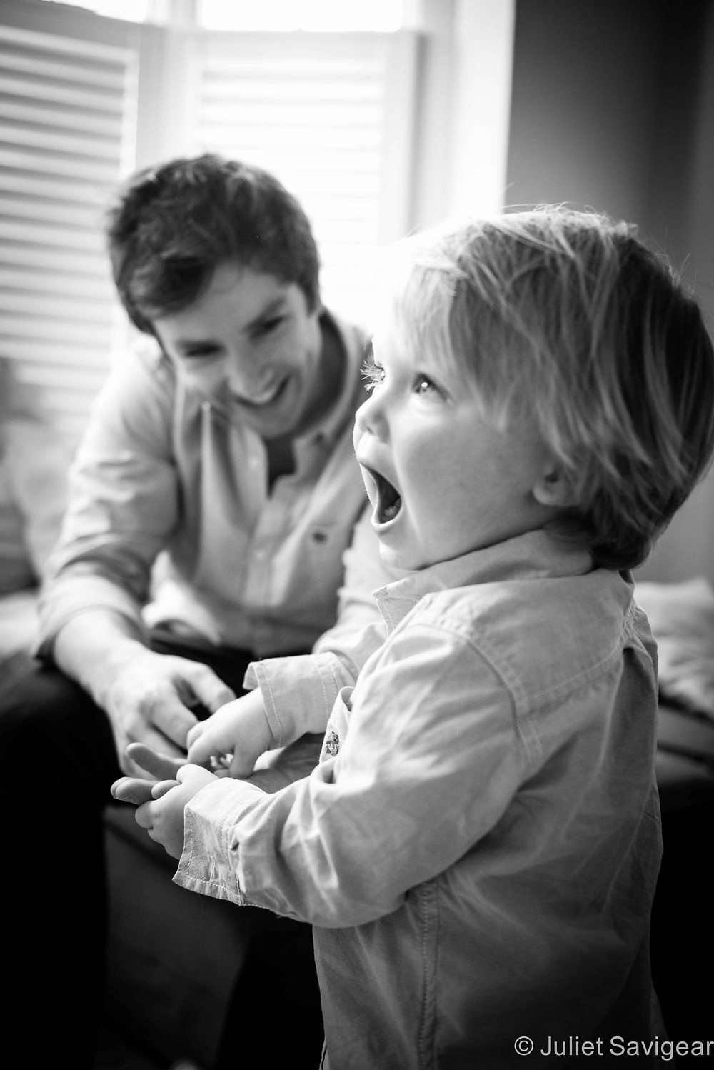 Father & Son - Family Photography, Clapham