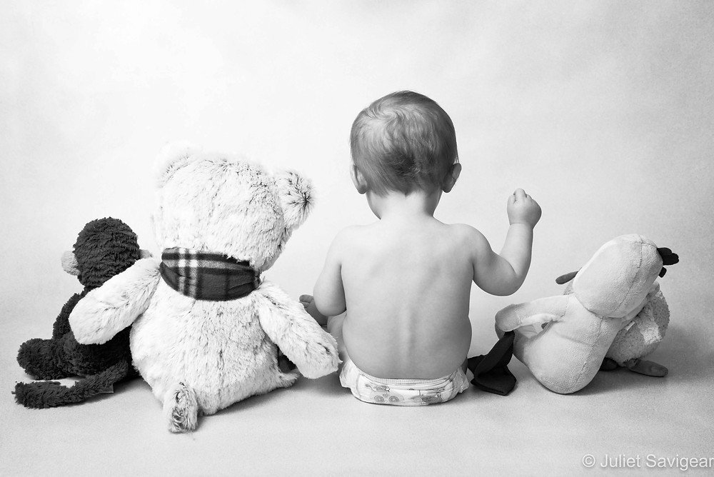 With Toys - Baby Photography - Ealing
