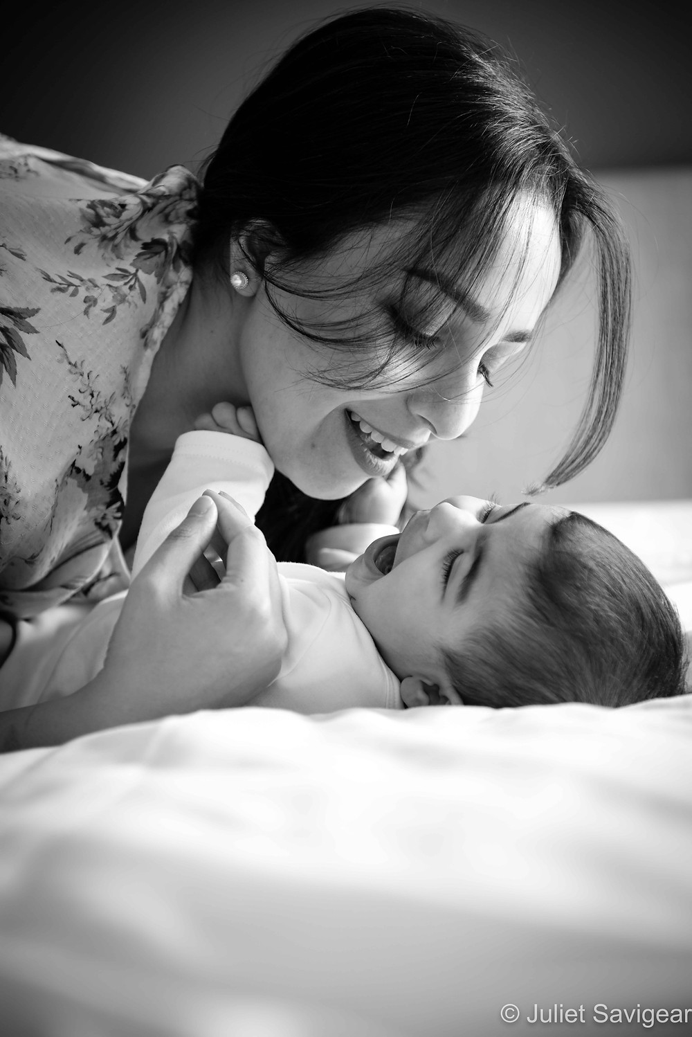 Giggles with mummy