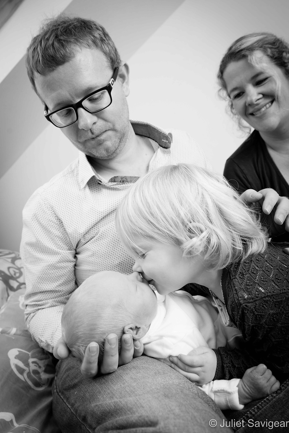 More Kisses! Newborn Baby & Family Photography, Wimbledon