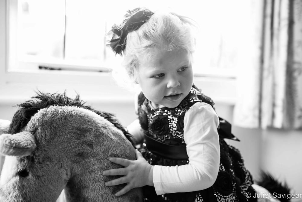 Rocking Horse - Children's Photography, Surrey