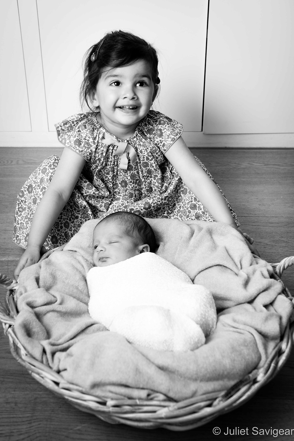 Sisters - Newborn Baby & Family Photography, Battersea