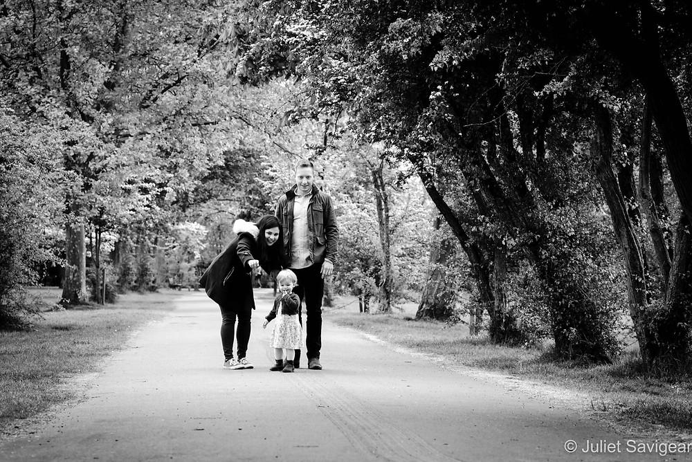 Family Portrait On Wandsworth Common