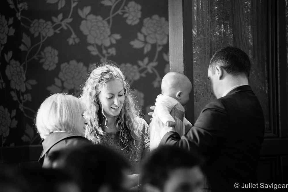 Christening Photography - A Quick Change - Balham
