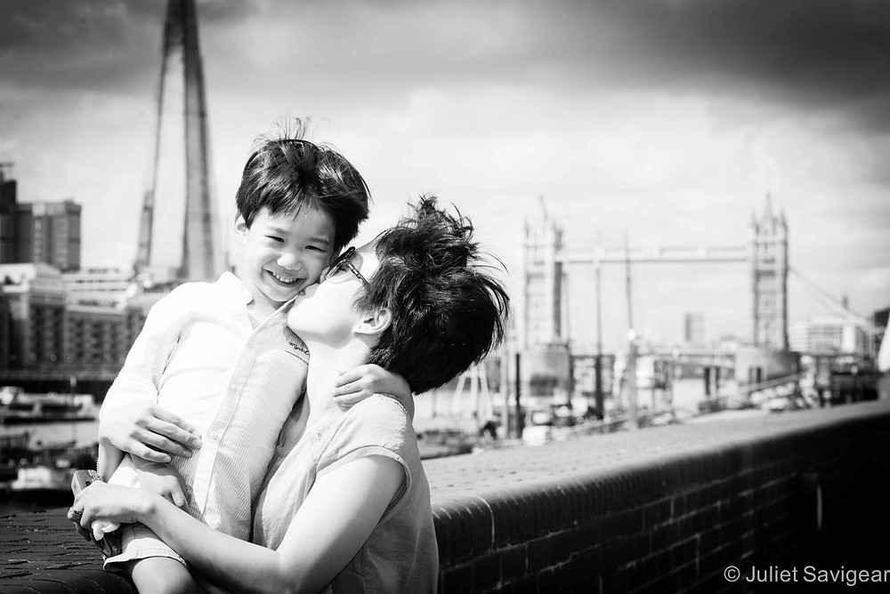 Mother's Kisses - Family Photography, Wapping, London