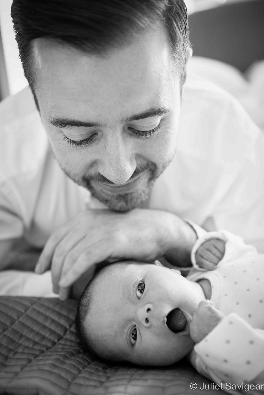 Daddy's Girl - Newborn Baby Photography, Balham