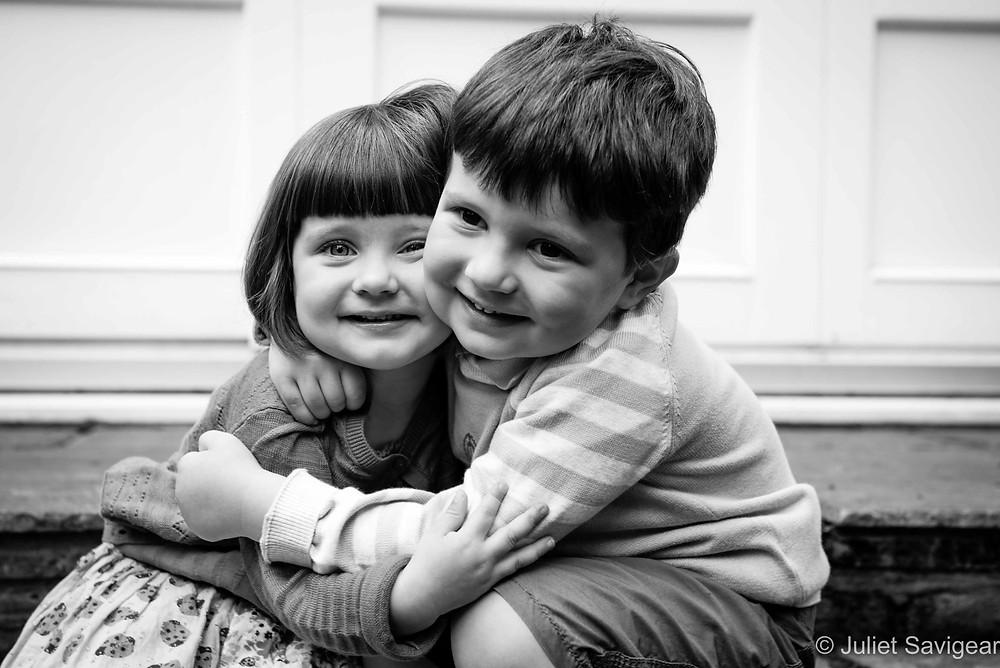 Hugs - Children's Photography, Wimbledon