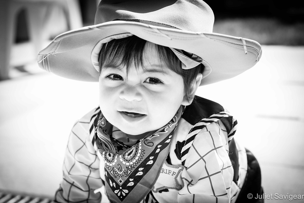 Little Cowboy - First Birthday Photography, Wandsworth