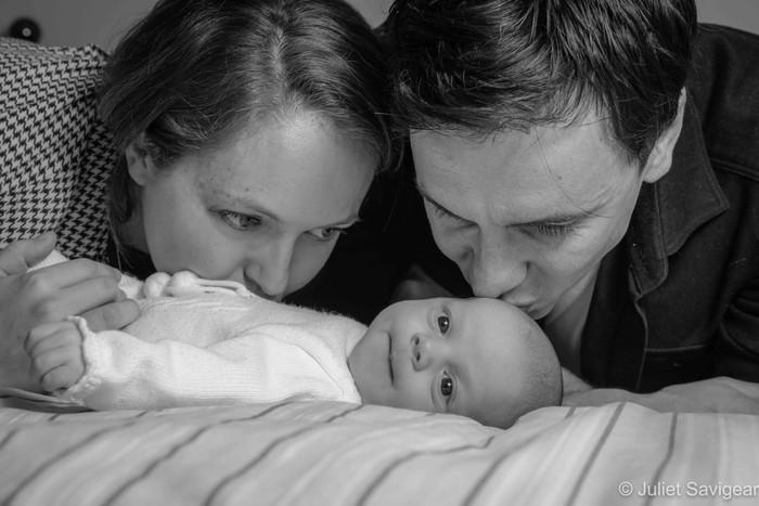 Natural Newborn Baby Photo Shoot - Balham