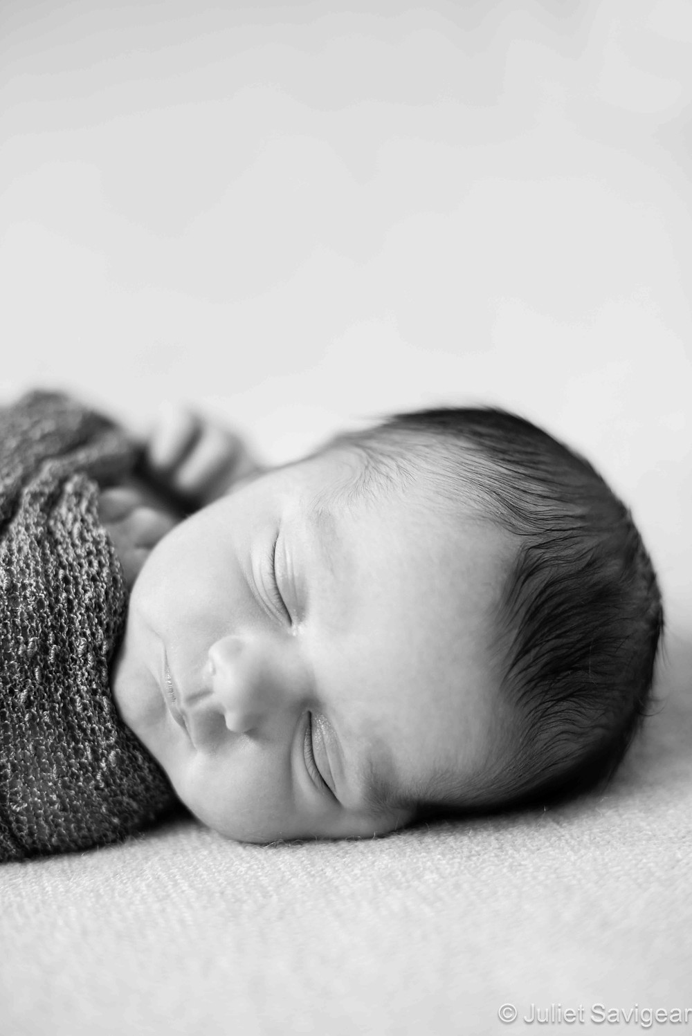 Sleeping Baby - Newborn Baby Photography, Barnes