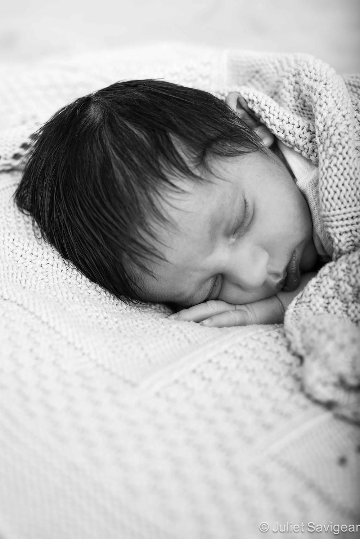 Sleepy Head - Newborn Baby Photography, Streatham