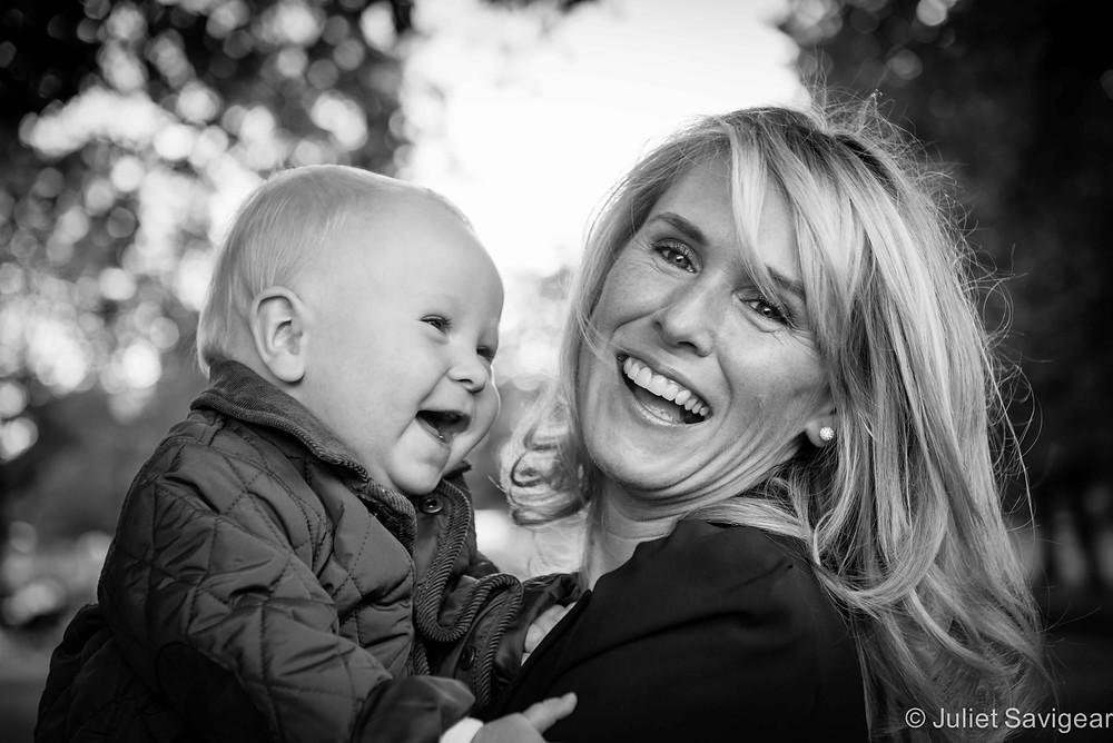 Giggles - Family Photo shoot - Clapham Common