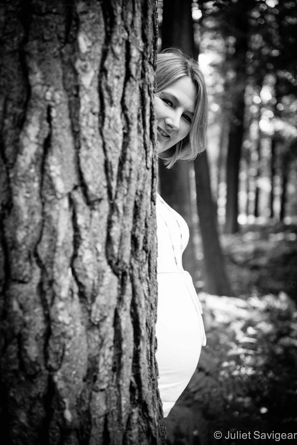 Peek-A-Bump - Maternity Photography, Great Windsor Park, Surrey