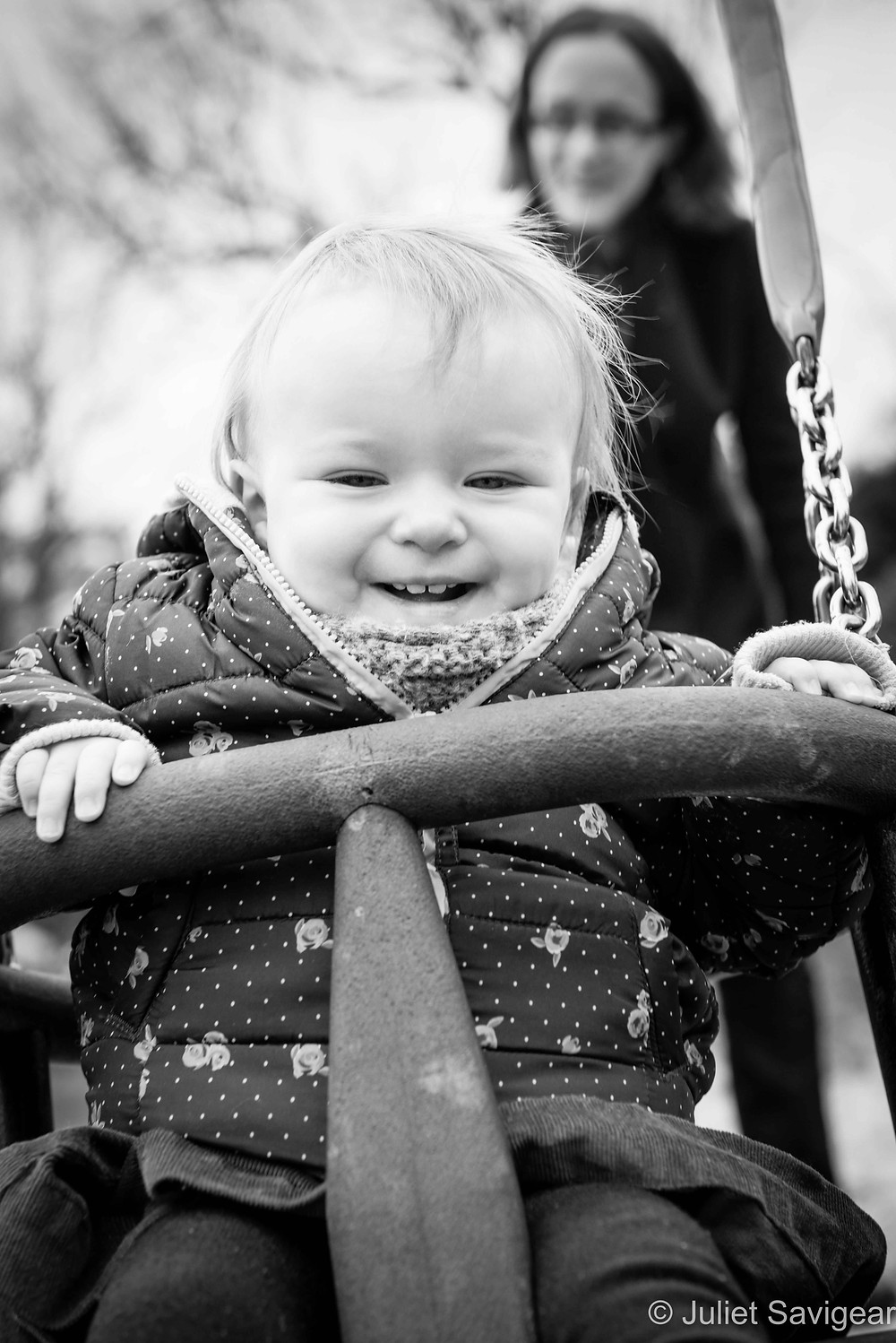 Swings - Baby Photography, Belsize Park