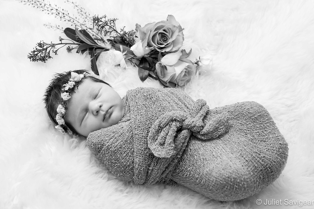 Pretty As A Flower - Newborn Baby Photography, Dulwich