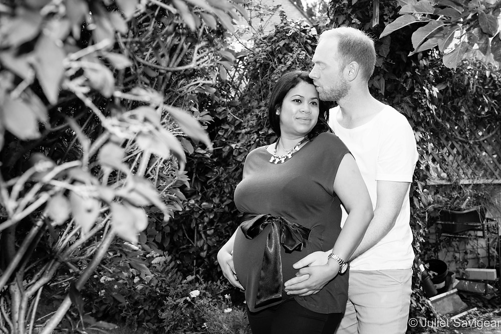 In The Garden - Maternity Photography - West Norwood