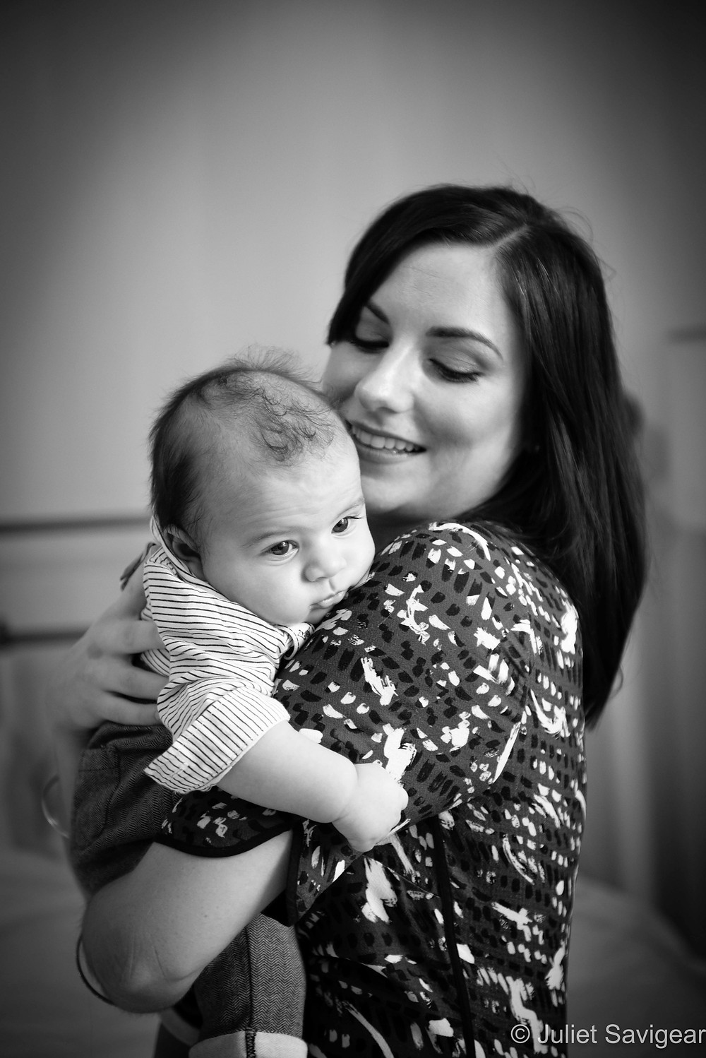 On Mummy's Shoulder - Baby Photography - Balham