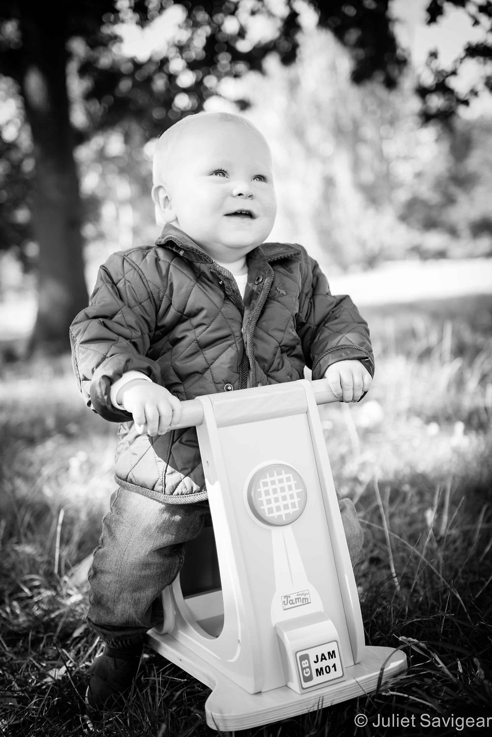 My Scooter - First Birthday Photo shoot - Clapham Common