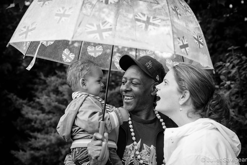 Rainy Day - Family Photography, Kensal Green