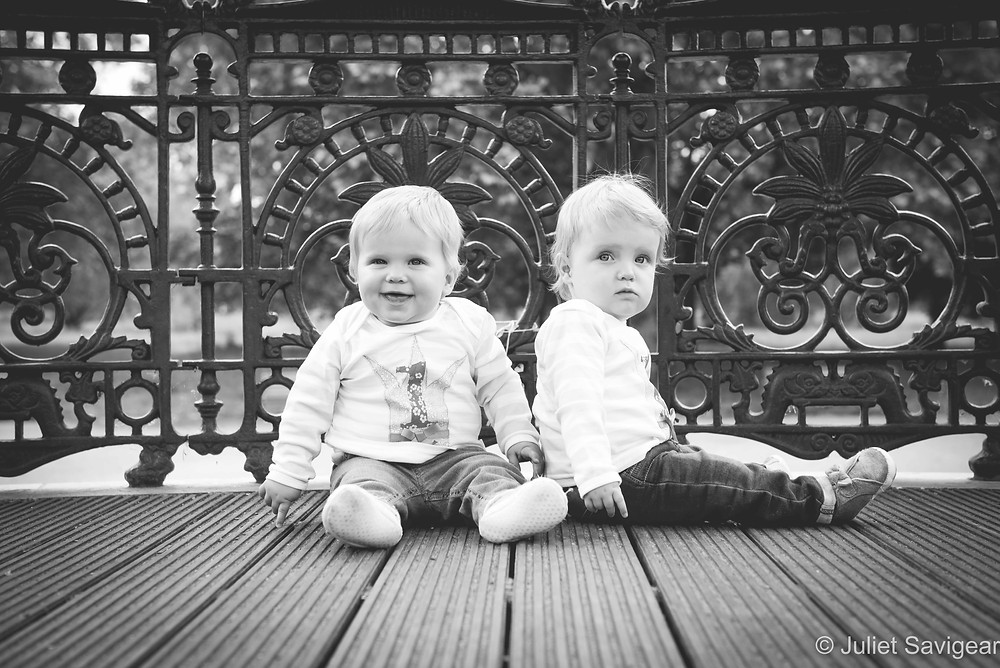 Twins on Clapham Bandstand