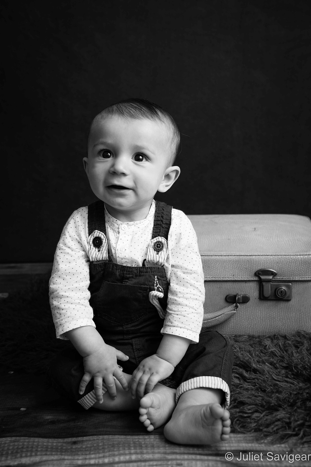Travelling Boy - Baby Photography, Ealing