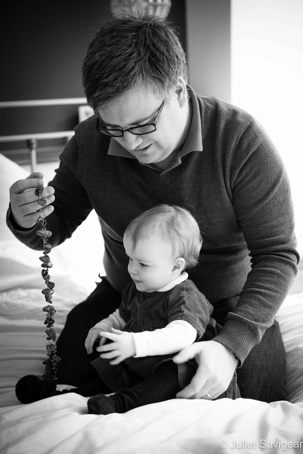 Father & Daughter Playing - Family Photography, Belsize Park