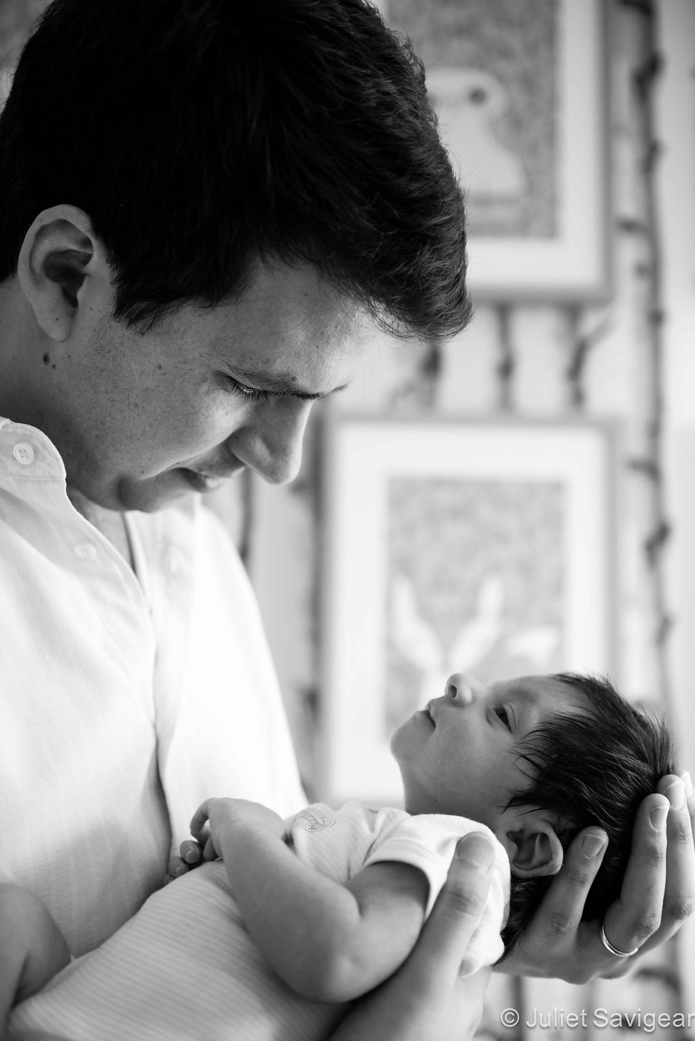 Father & Son - Newborn Baby & Family Photography, Streatham