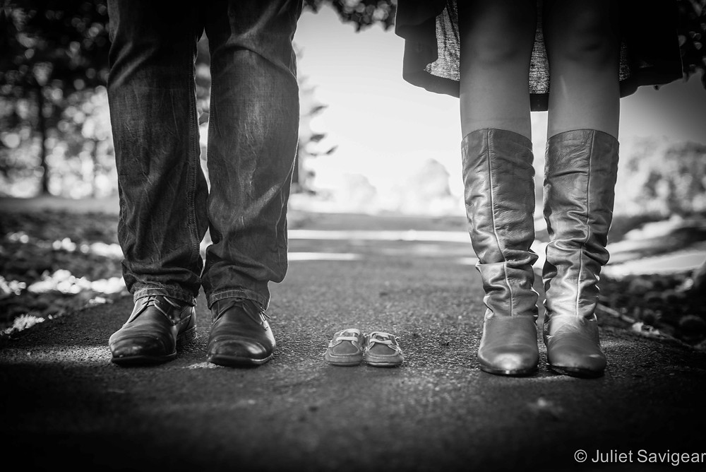 Feet - Maternity Photography, Greenwich Park
