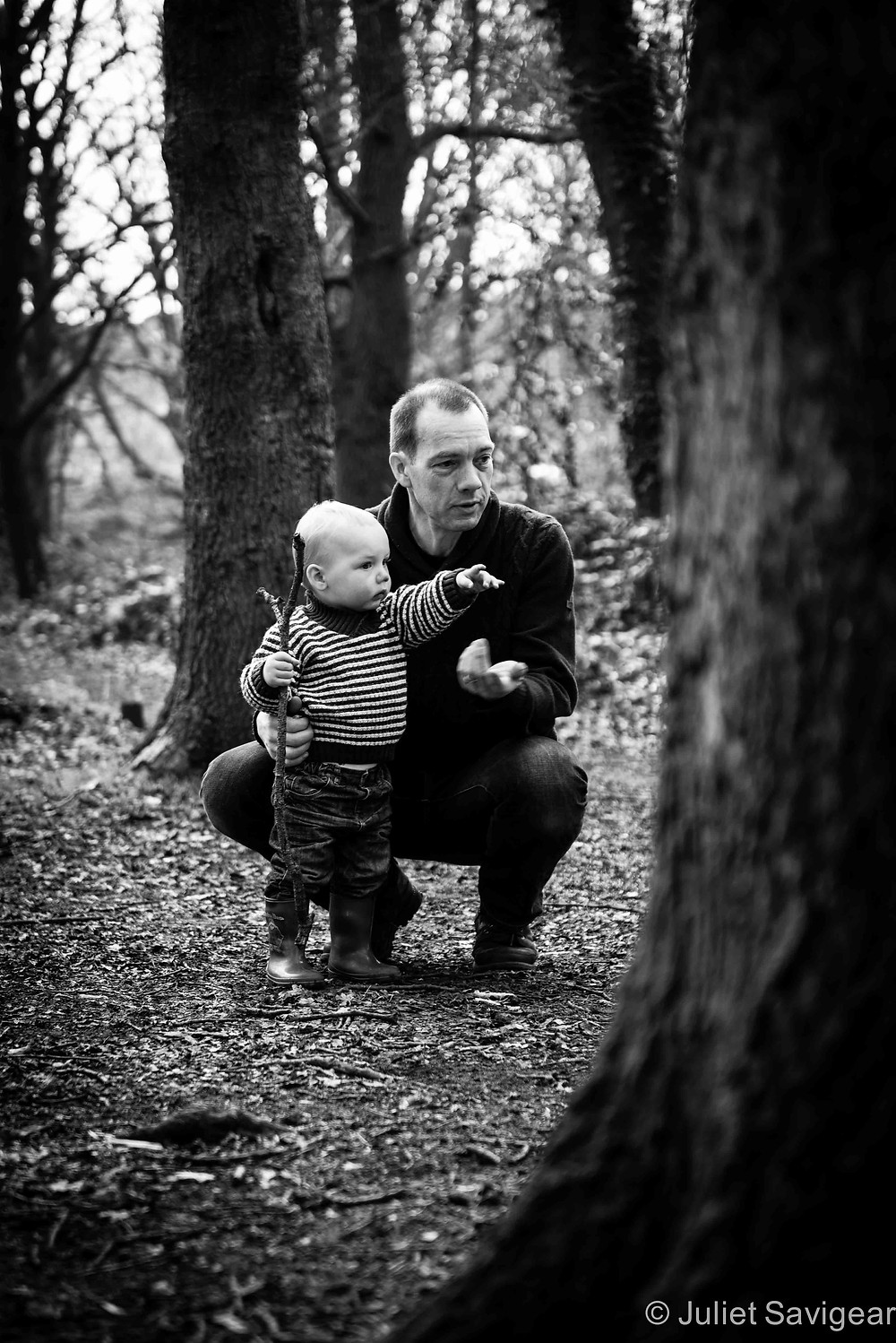 Father & Son - Children's & Family Photography, Tooting Common