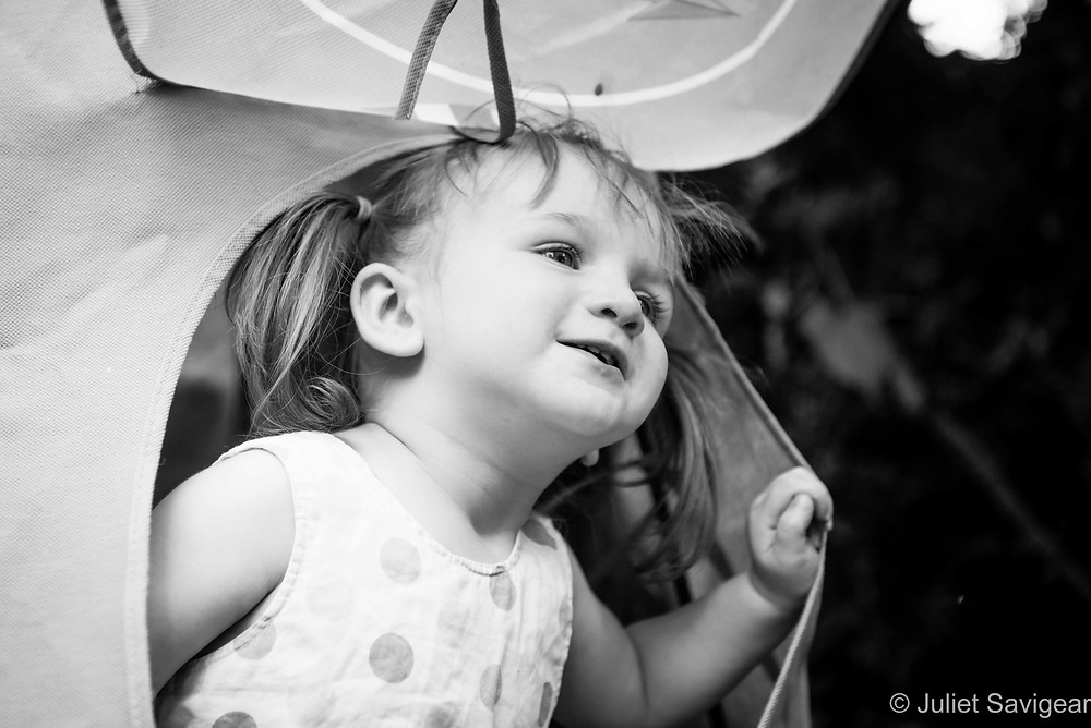 Peek-A-Boo - Children's Photography, Putney