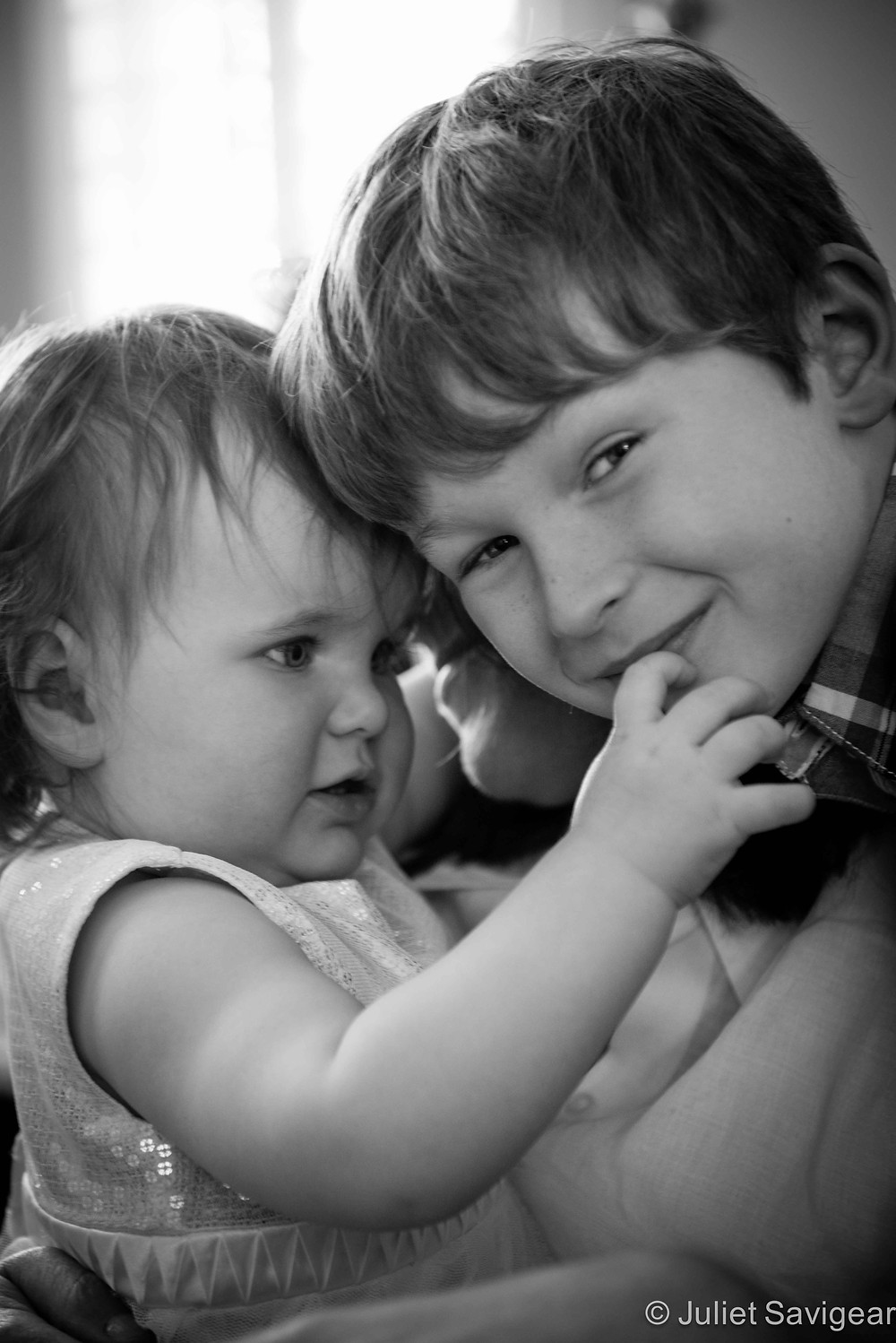 Don't Mess With Your Little Sister - Children's Photography, Clapham