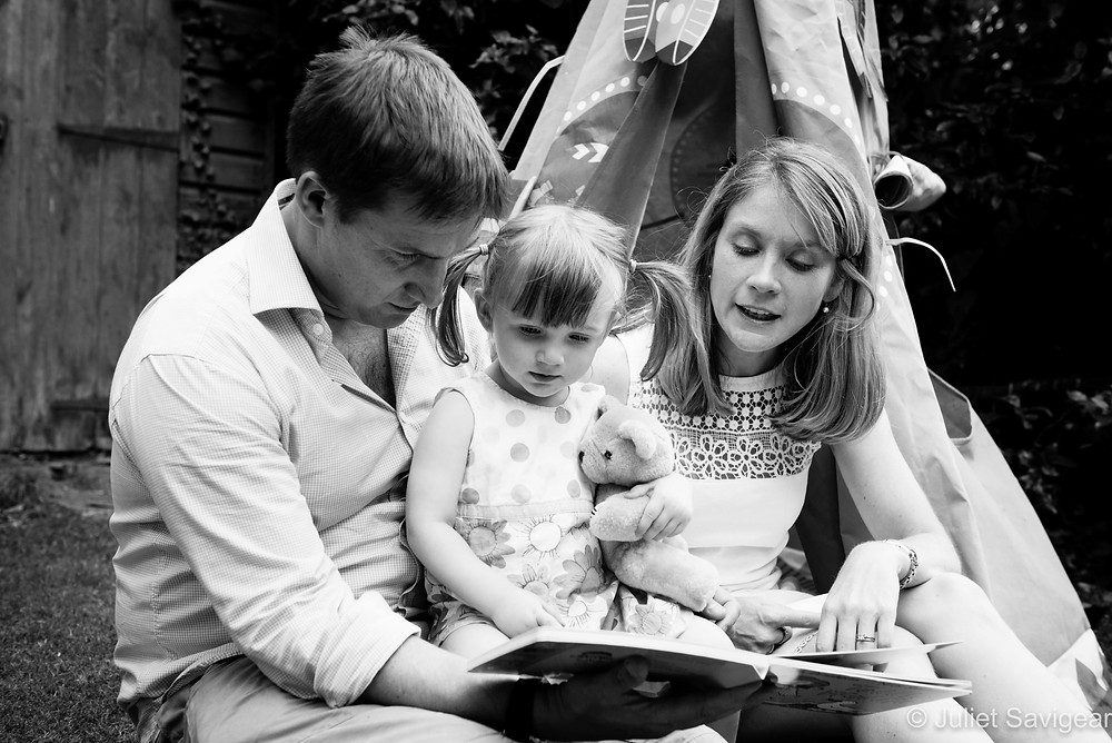 Story Time - Family Photography, Putney