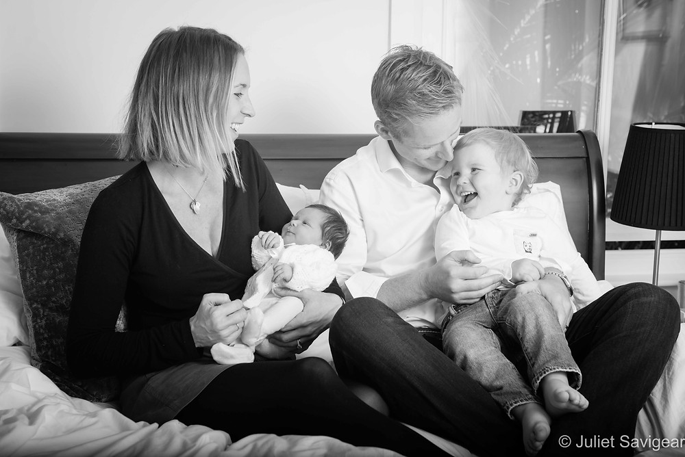 Family Portrait - Newborn Baby Photography, Dulwich