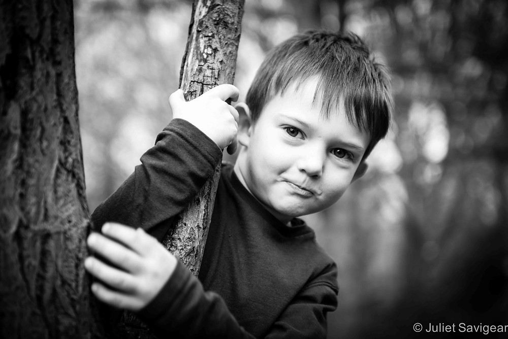 Cheeky Face - Children's Photography, Tooting Common