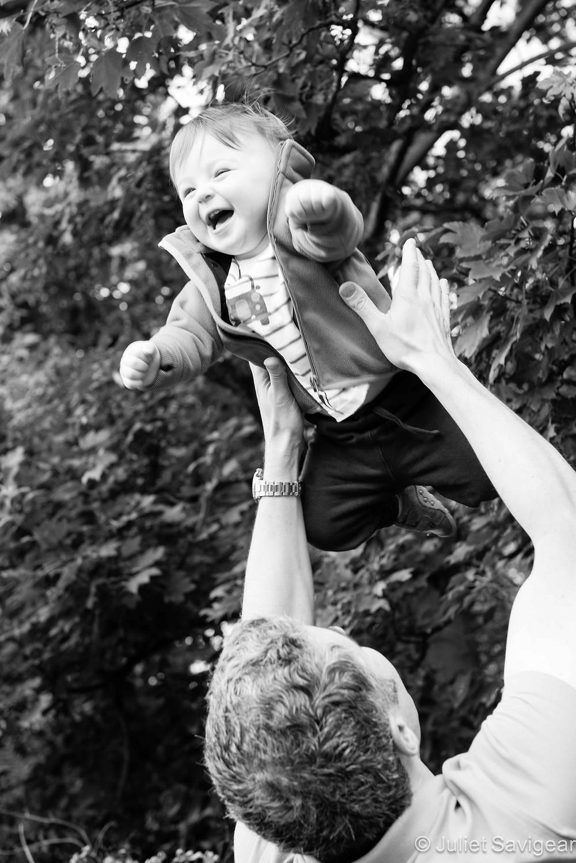 Flying High - First Birthday & Family Photo Shoot, Wimbledon