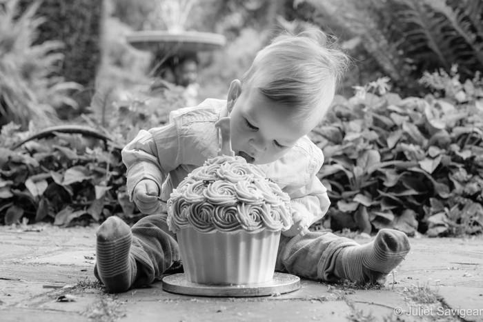 Outdoor Cake Smash & Family Photo Shoot - The Rookery, Streatham Common