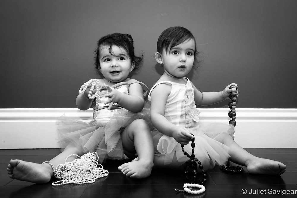 Twins Girls - Toddler Photography, Clapham