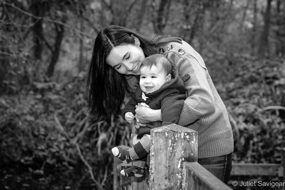 Mother & Baby Outdoors