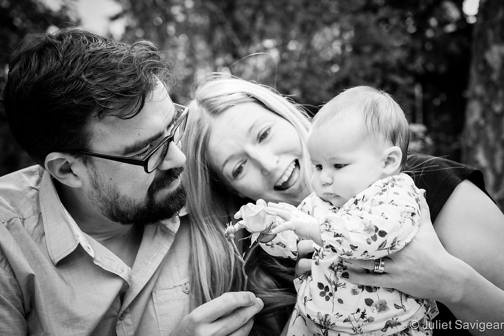 Rose For Baby - Family Photography, East Dulwich