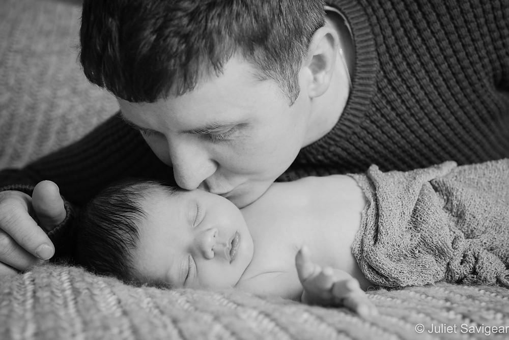 Kiss - Newborn Baby Photography - Streatham
