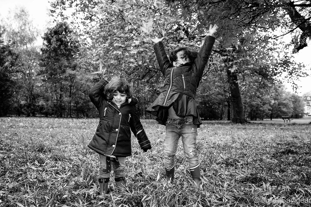 Hurrah For Autumn - Children's Photography, Balham