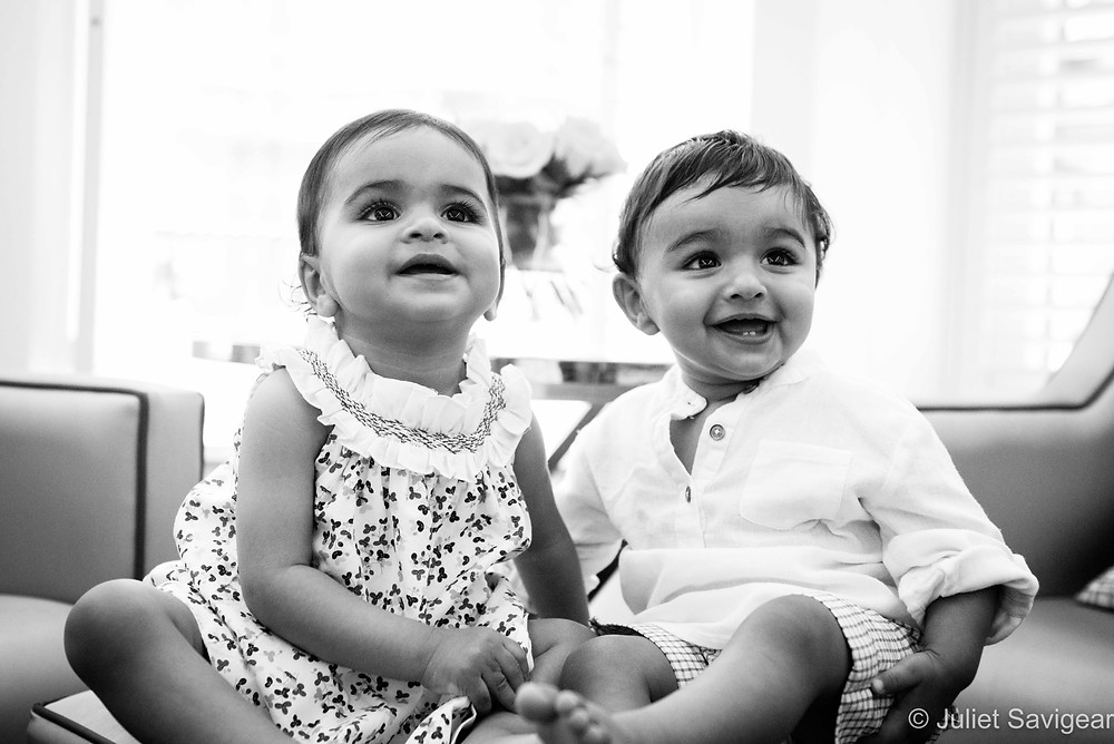 Year Old Twins - Children's Photography, Victoria, London