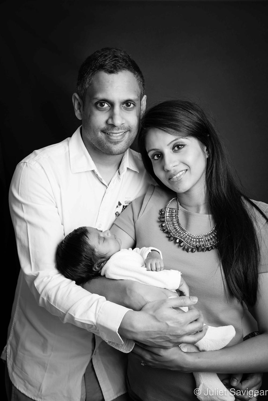 Family Portrait - Baby Photography, Hammersmith