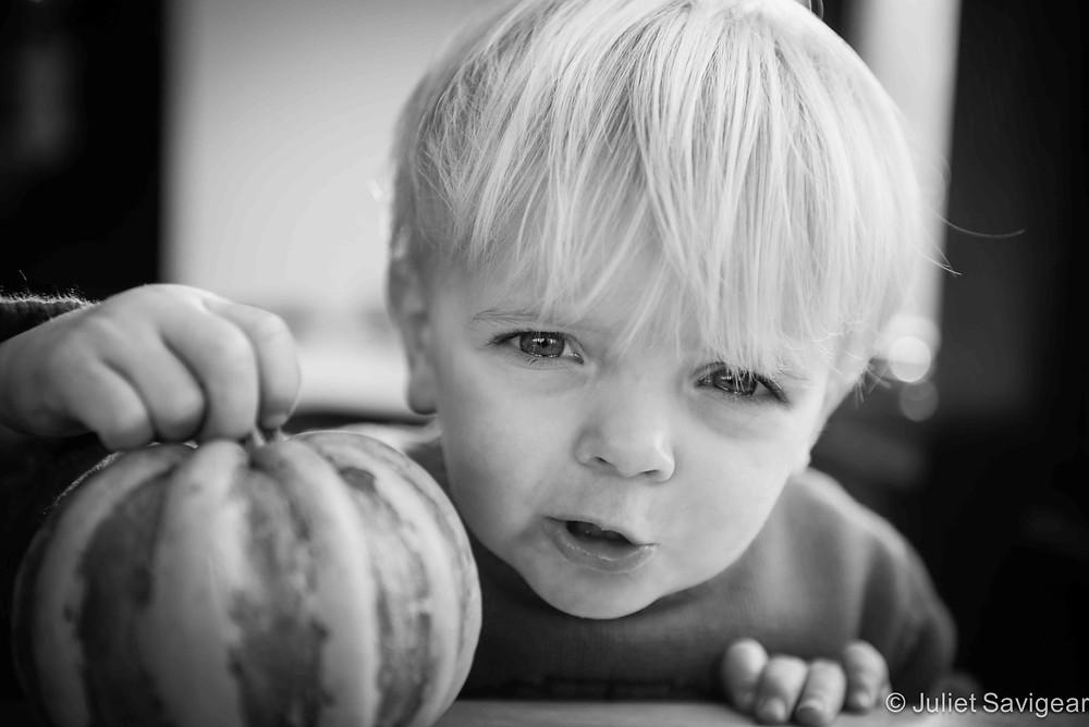 Pumpkin - Children's Photography, Wandsworth Common